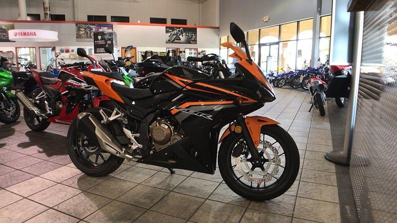 2017 Honda CBR500R ABS for sale 200434956