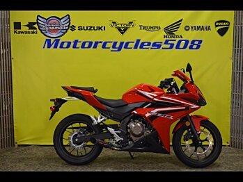 2017 Honda CBR500R for sale 200506136
