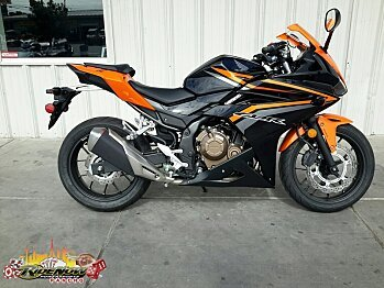 2017 Honda CBR500R ABS for sale 200520538