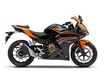 2017 Honda CBR500R for sale 200521062