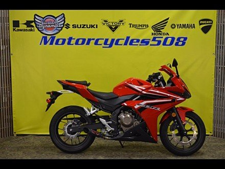 2017 Honda CBR500R for sale 200506136