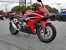 2017 Honda CBR500R for sale 200648884