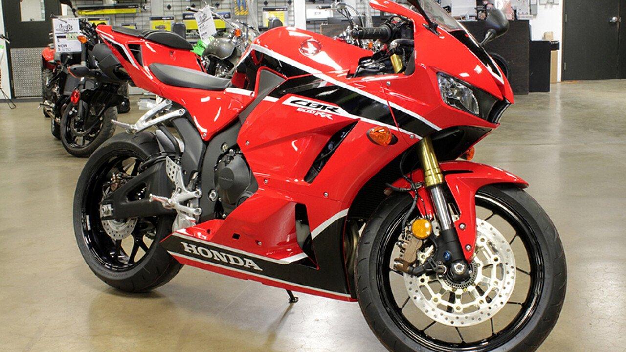 2017 Honda CBR600RR ABS for sale 200515870