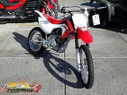 2017 Honda CRF125F for sale 200420274