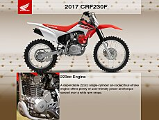 2017 Honda CRF230F for sale 200547959
