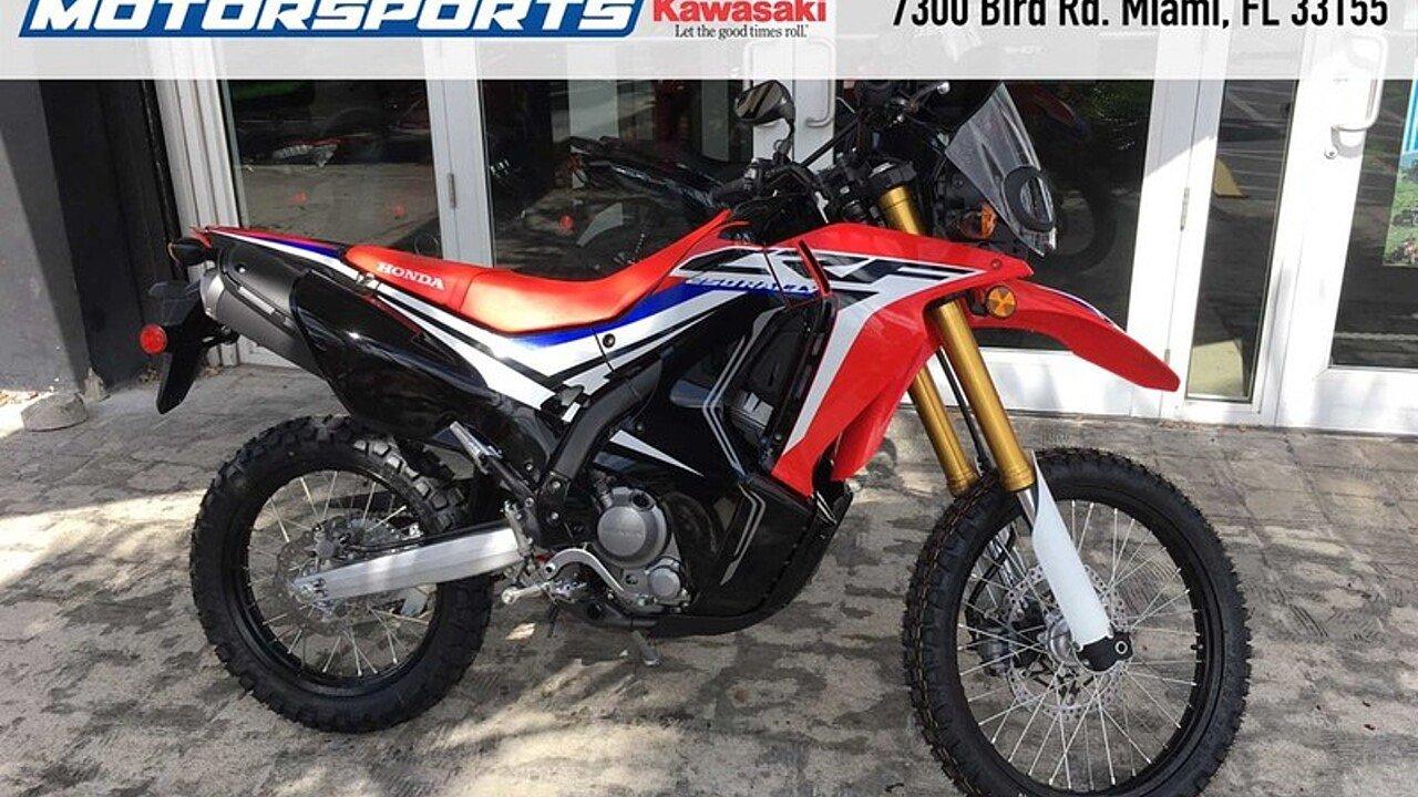 2017 Honda CRF250L for sale 200453983