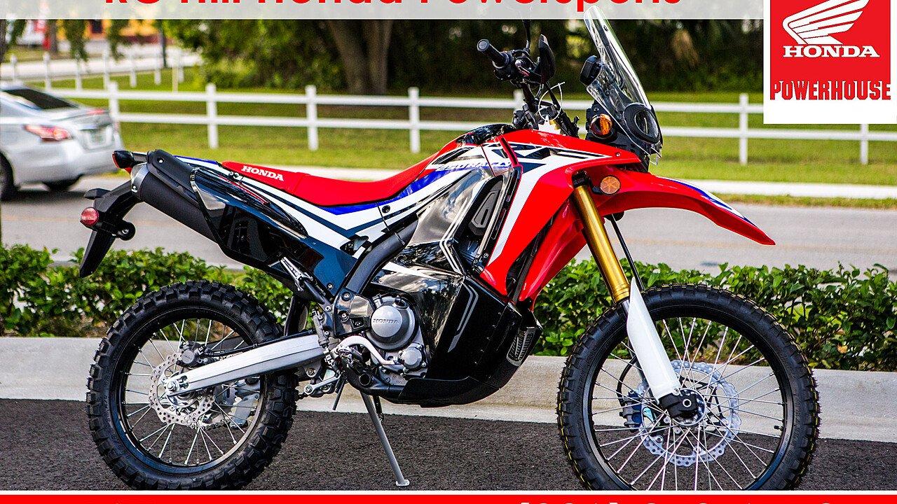 2017 Honda CRF250L for sale 200580471