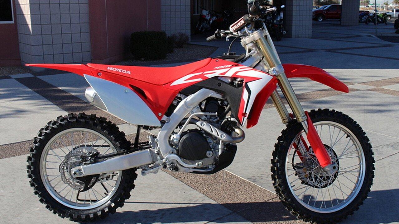 2017 Honda CRF450R for sale 200421425