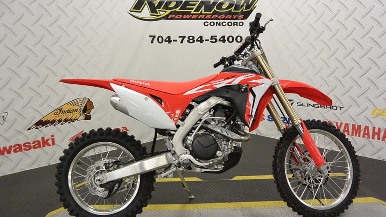 2017 Honda CRF450RX for sale 200421507