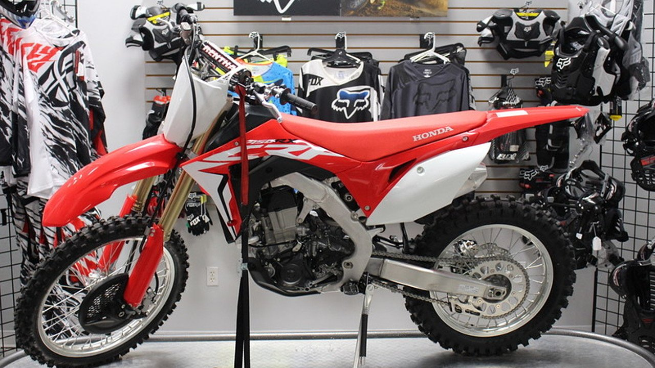 2017 Honda CRF450RX for sale 200421682
