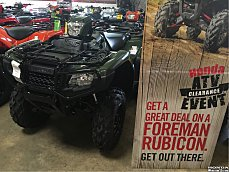 2017 Honda FourTrax Foreman Rubicon for sale 200501744