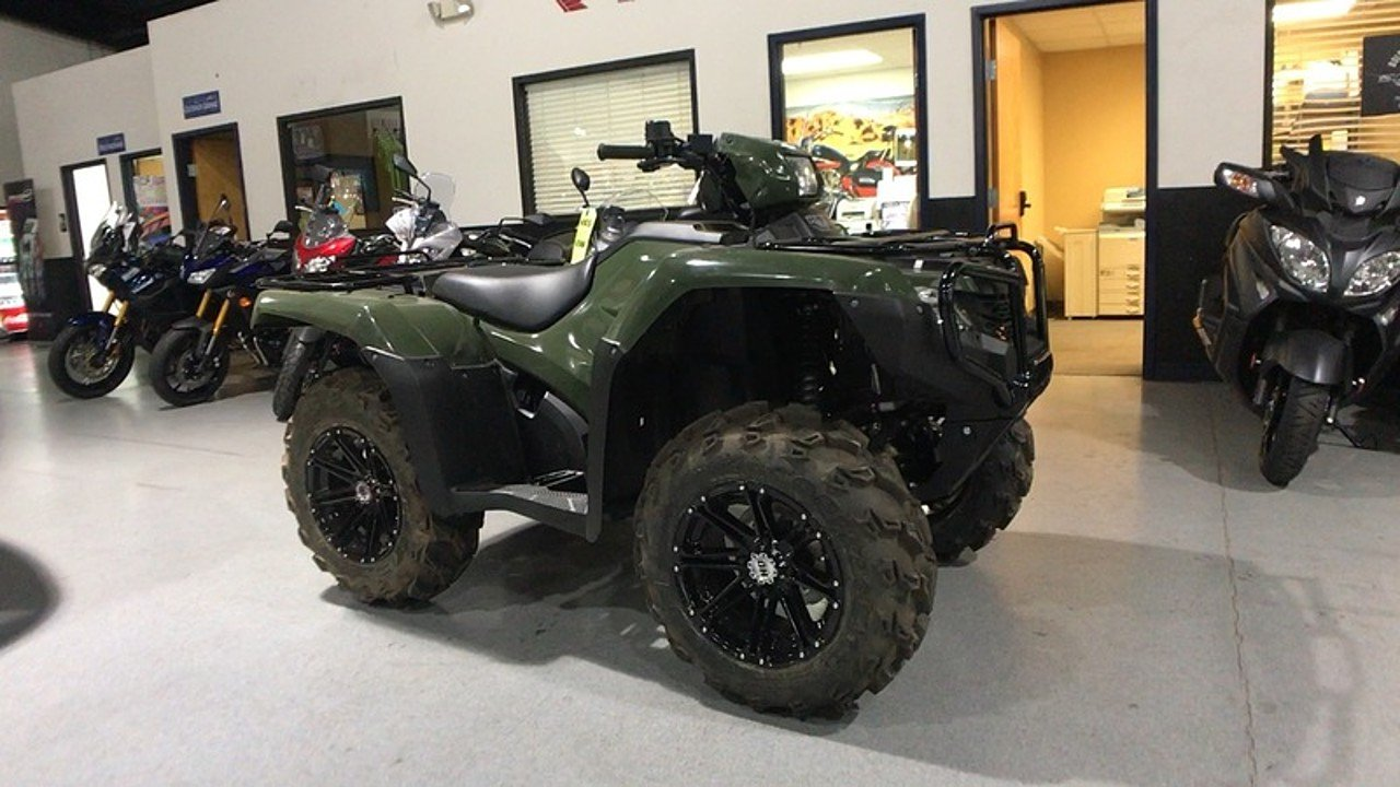 2017 Honda FourTrax Foreman 4x4 for sale 200403413