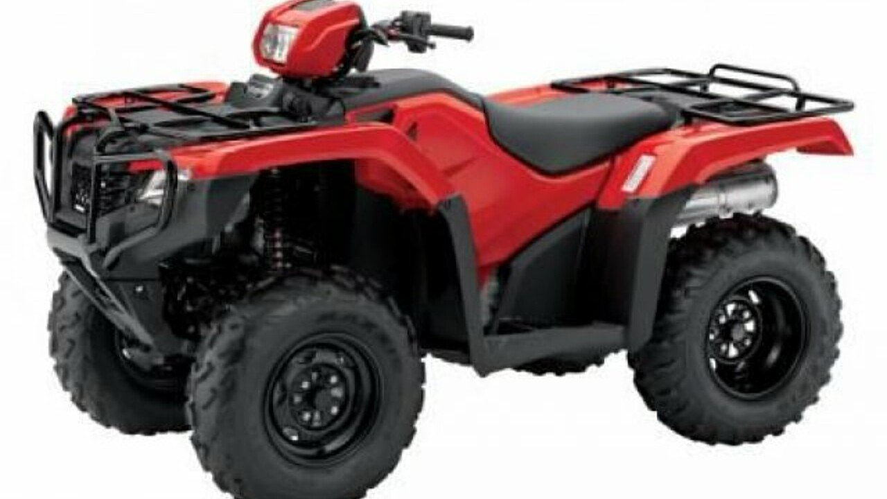 2017 Honda FourTrax Foreman for sale 200450886