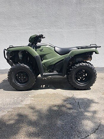 2017 Honda FourTrax Foreman 4x4 for sale 200618025