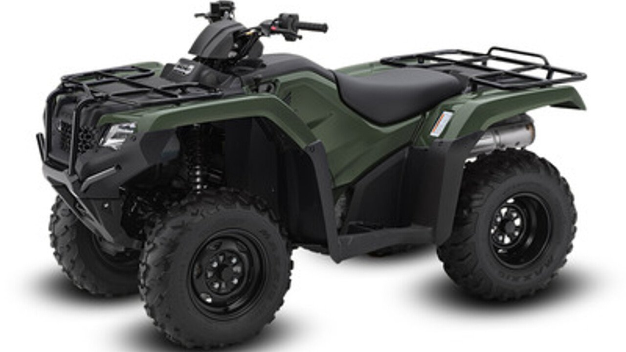 2017 Honda FourTrax Rancher 4x4 Automatic DCT EPS for sale 200405505