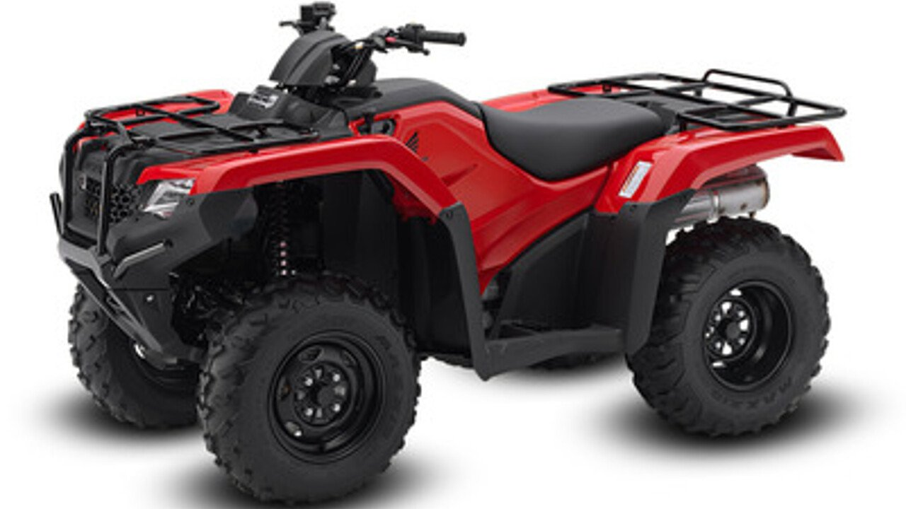 2017 Honda FourTrax Rancher 4X4 for sale 200405790