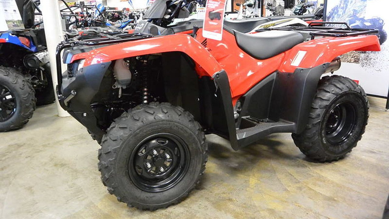 2017 Honda FourTrax Rancher 4x4 ES for sale 200416334