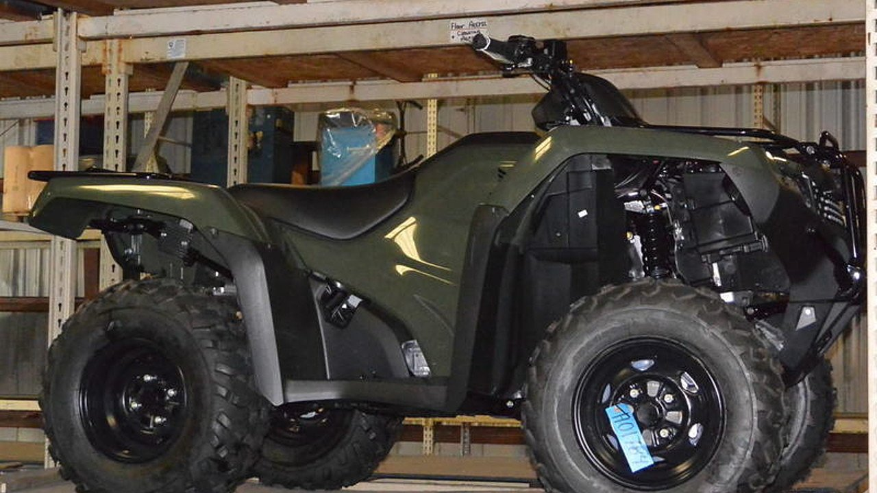 2017 Honda FourTrax Rancher 4x4 Automatic DCT EPS for sale 200420184