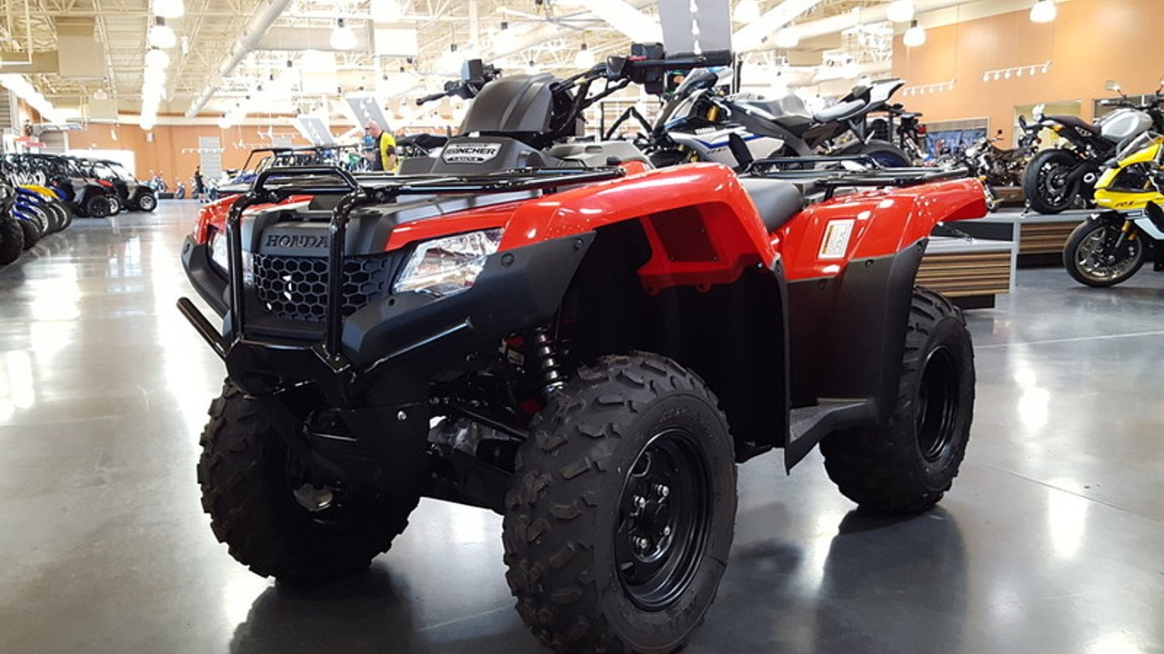 2017 Honda FourTrax Rancher 4x4 Automatic DCT IRS for sale 200421101