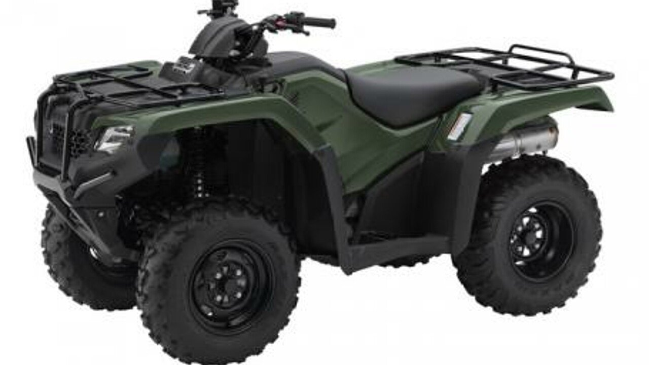 2017 Honda FourTrax Rancher 4x4 for sale 200498584
