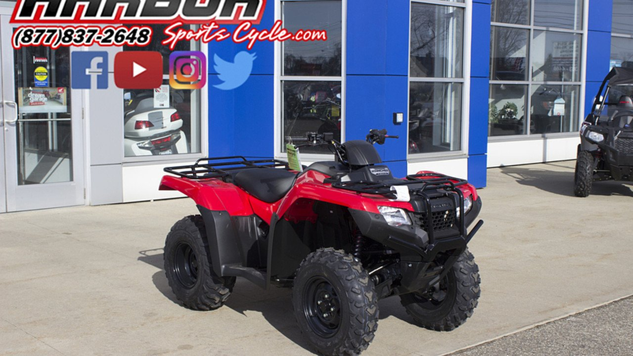 2017 Honda FourTrax Rancher 4x4 for sale 200522223