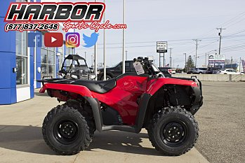 2017 Honda FourTrax Rancher 4x4 for sale 200522248