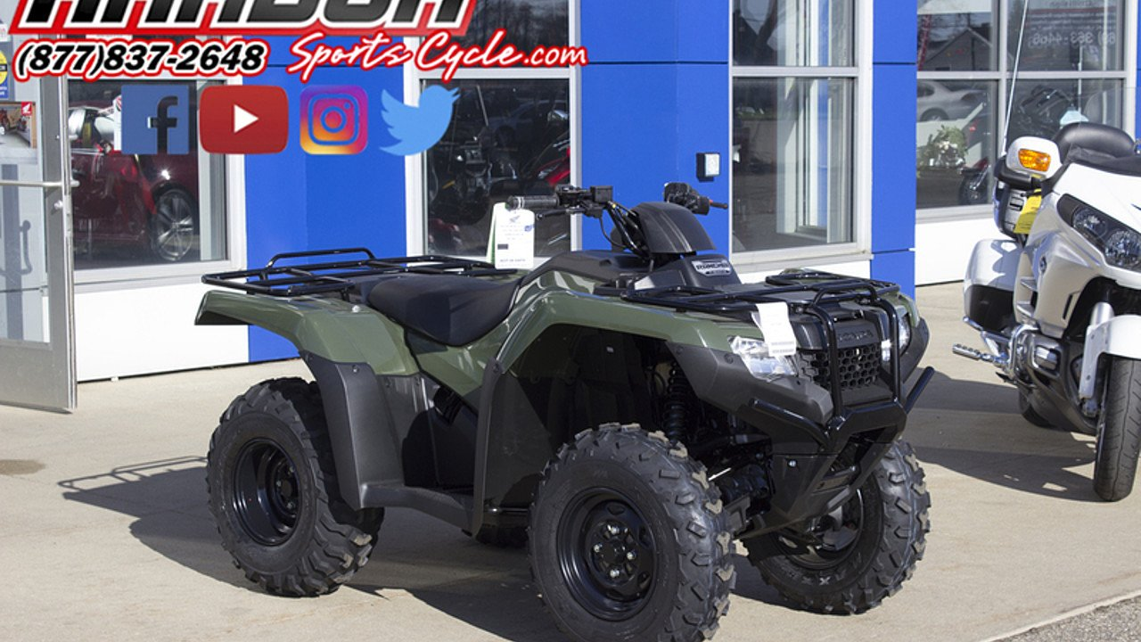 2017 Honda FourTrax Rancher 4x4 ES for sale 200522249