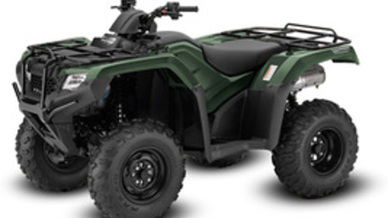 2017 Honda FourTrax Rancher 4x4 Automatic DCT IRS for sale 200555189