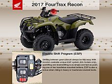 2017 Honda FourTrax Recon for sale 200553755