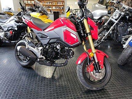 2017 Honda Grom for sale 200604458