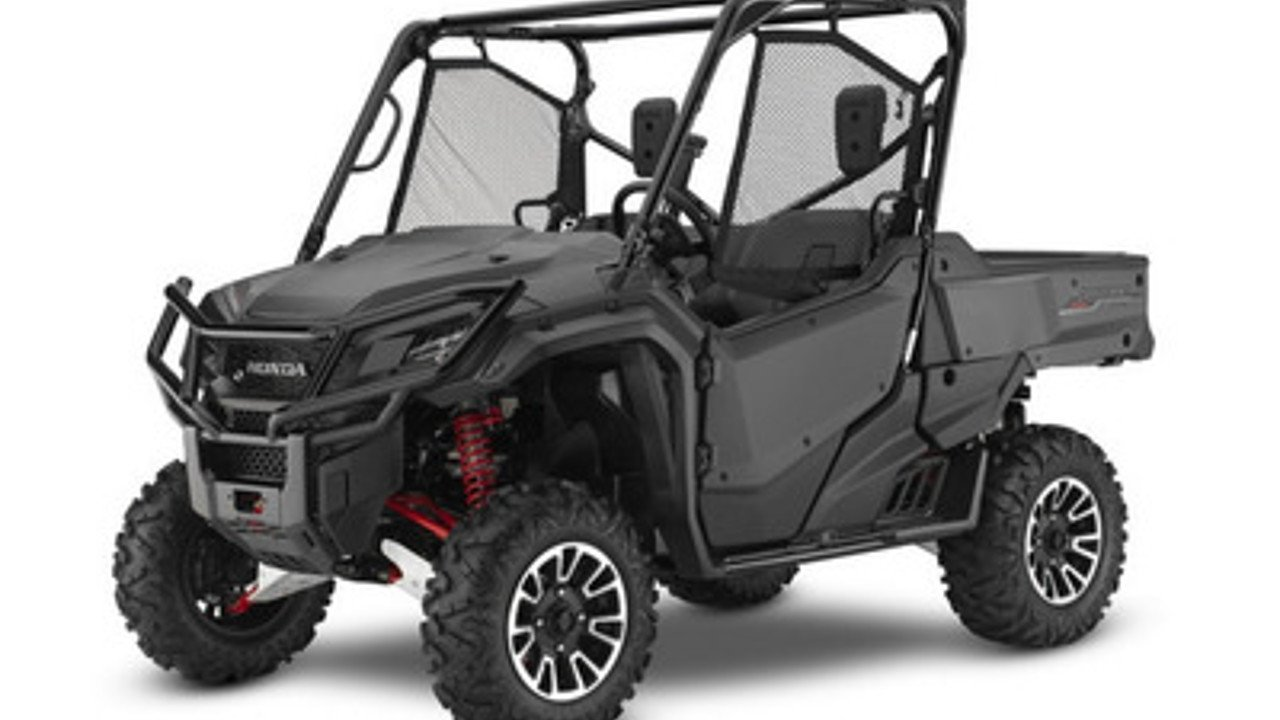 2017 Honda Pioneer 1000 Limited Edition for sale 200476182