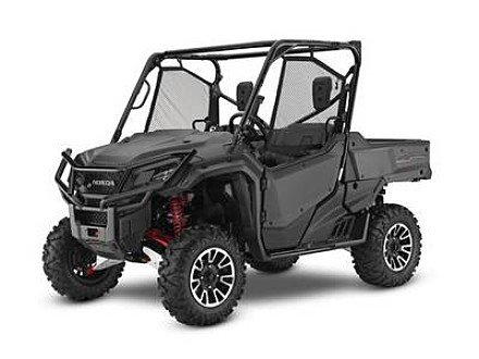 2017 Honda Pioneer 1000 for sale 200630967