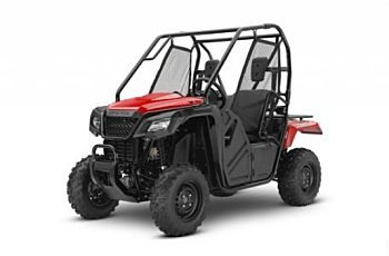 2017 Honda Pioneer 500 for sale 200430623