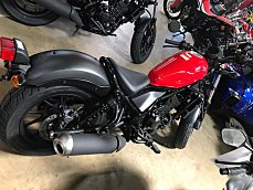 2017 Honda Rebel 300 for sale 200501721