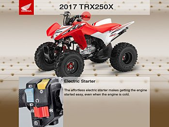 2017 Honda TRX250X for sale 200547689