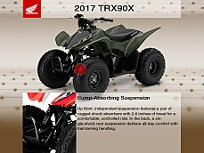 2017 Honda TRX90X for sale 200458016