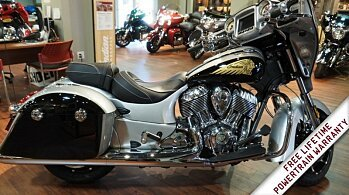 2017 Indian Chieftain Limited w/ 19 Inch Wheels & ABS for sale 200469283