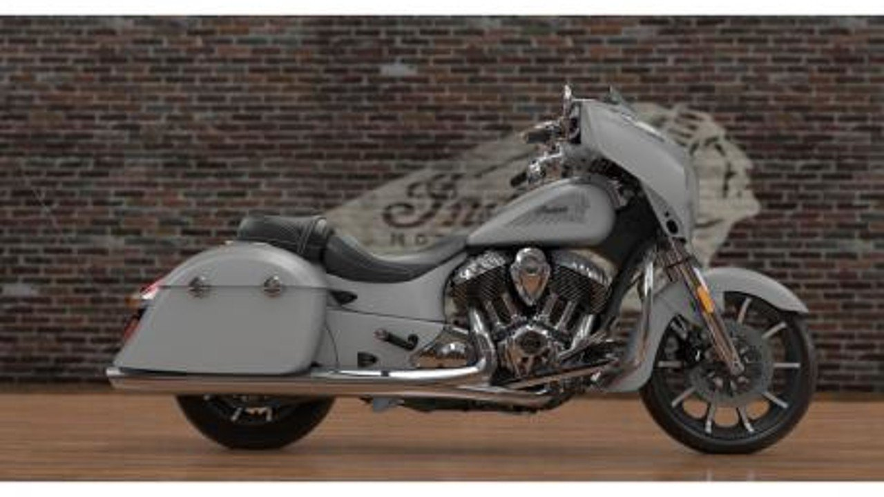 2017 Indian Chieftain Limited w/ 19 Inch Wheels & ABS for sale 200472601