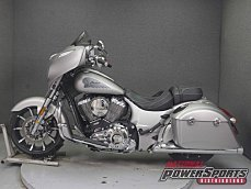 2017 Indian Chieftain Limited w/ 19 Inch Wheels & ABS for sale 200617393