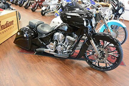 2017 Indian Chieftain Limited w/ 19 Inch Wheels & ABS for sale 200631176