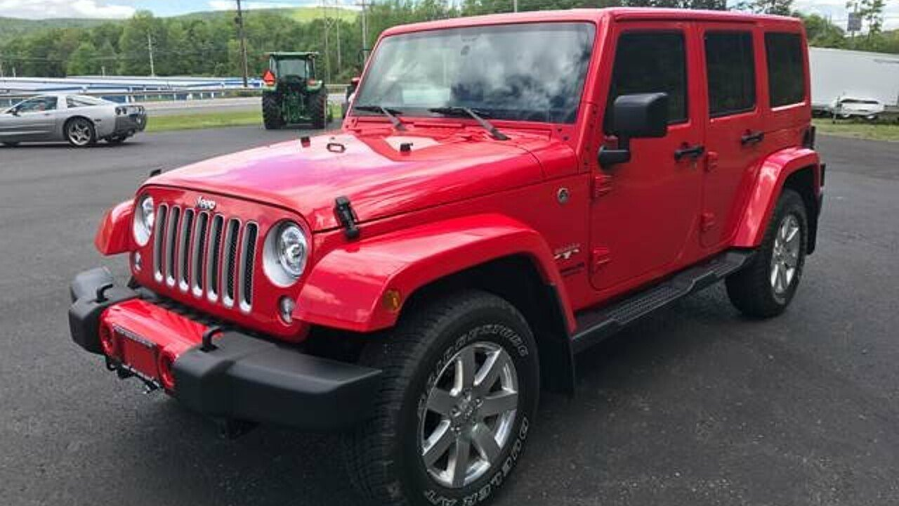 2017 Jeep Wrangler 4WD Unlimited Sahara for sale 100877514