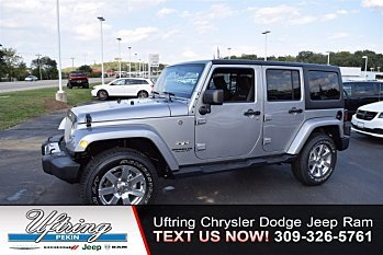 2017 Jeep Wrangler 4WD Unlimited Sahara for sale 100911726