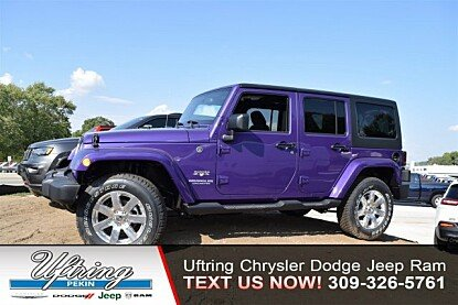 2017 Jeep Wrangler 4WD Unlimited Sahara for sale 100905953