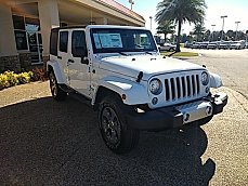 2017 Jeep Wrangler 4WD Unlimited Sahara for sale 100912368