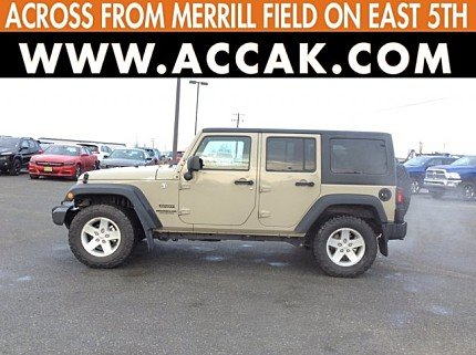 2017 Jeep Wrangler 4WD Unlimited Sport for sale 100922723