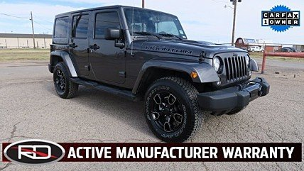 2017 Jeep Wrangler 4WD Unlimited Sahara for sale 100924291