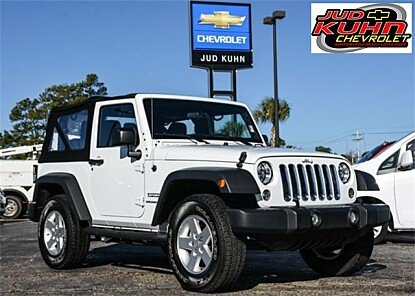 2017 Jeep Wrangler 4WD Sport for sale 100940723