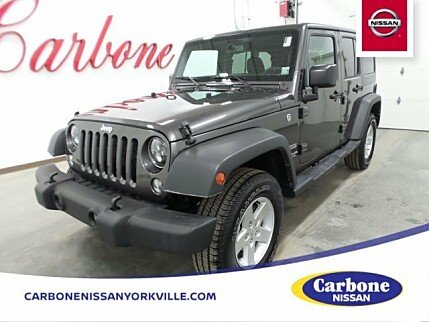 2017 Jeep Wrangler 4WD Unlimited Sport for sale 100943114