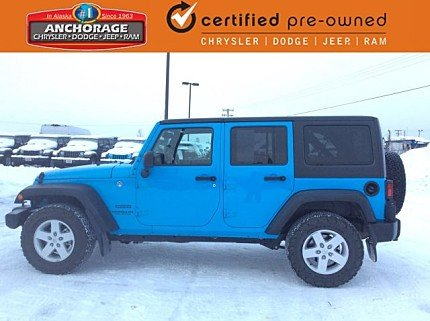 2017 Jeep Wrangler 4WD Unlimited Sport for sale 100943483