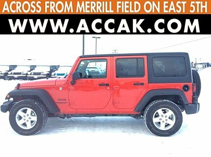 2017 Jeep Wrangler 4WD Unlimited Sport for sale 100943486